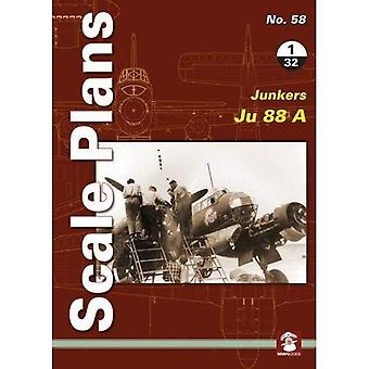 Scale Plans No. 58: Junkers 88 A 1/32 (Scale Plans)