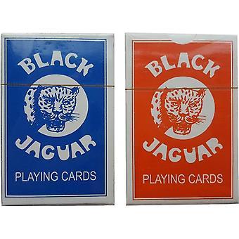 Speelkaarten Black Jaguar 10 stuks