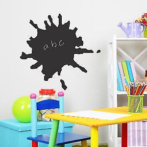 SPLAT CHALKBOARD STICKERS