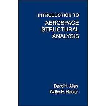 Einführung in die Luft-und strukturelle Analyse von Allen & David H.