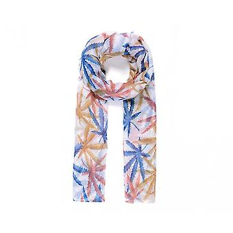Intrigue Womens/Ladies Leaf Print Scarf