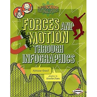 Forces and Motion Through Infographics by Rebecca Rowell - 9781467715