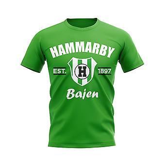 Hammarby Established Football T-Shirt (Green)