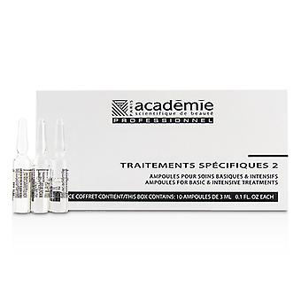 Academie Specific Treatments 2 Ampoules Collagene Marin (light Yellow) - Salon Product - 10x3ml/0.1oz