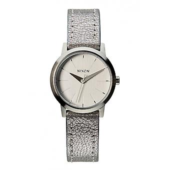 Nixon The Kenzi Leather Silver Shimmer (A3981878)
