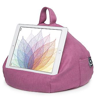 Ipad, tablet & ereader bean bag stand by ibeani - pink