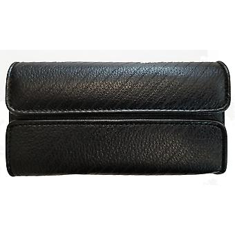 Sprint Leather Carrying Pouch with Belt Clip for HTC EVO 3D - Black