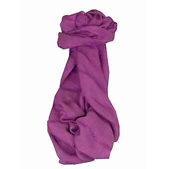 Mens Vietnamese Long Silk Scarf Hue Mallow by Pashmina & Silk