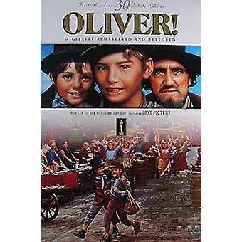 Oliver (30Th Anniversary Video) Original Video/Dvd Ad Poster