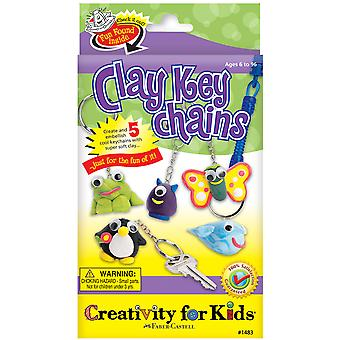 Creativity For Kids Activity Kits Clay Key Chains Makes 5 Ck 1483