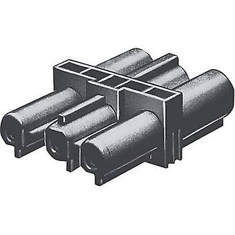 Double pole connector [ Wieland GST18 plug - Wieland GST18 receptacle] Black Wieland 92.030.5958.1