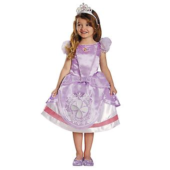 Sofia The First Disney Deluxe Fantasy Royal Princess Toddler Girls Costume 3T-4T