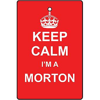 Keep Calm I'm A Morton Car Air Freshener