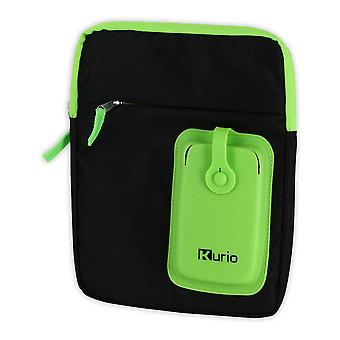 Meroncourt Kurio Carry Shoulder Bag for 4-10 Inch Device Green/Black (C13700GI)