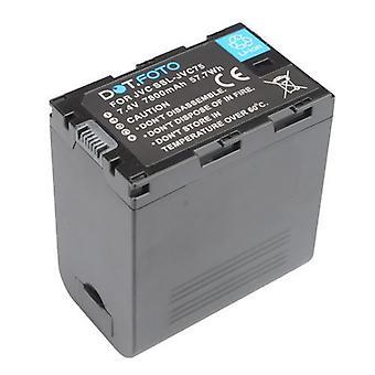 Dot.Foto JVC SSL-JVC75 batteri - 7.4V / 7800mAh