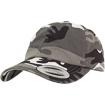 Flexfit LOW PROFILE Strapback Washed Cap - silber camo