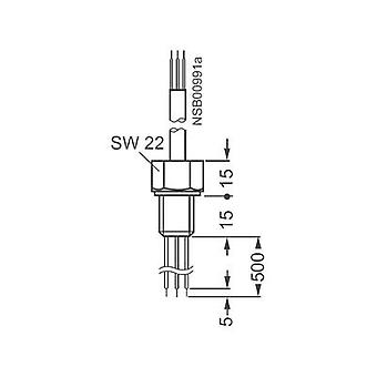Sensors for 3UG4501 Siemens 3UG3207-3A WIRE ELECTRODE 500 mm,THREE-PIN (3 x 0,5 mm², 2 m)
