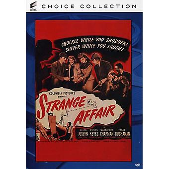 Strange Affair [DVD] USA import