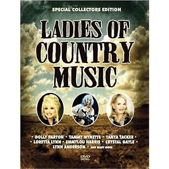 Forskellige kunstner - damer af countrymusik [DVD] USA import