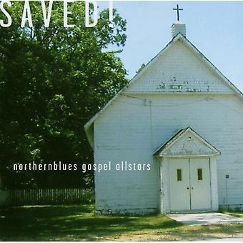 Nordlige Blues evangeliet Allstars - gemt! [CD] USA import