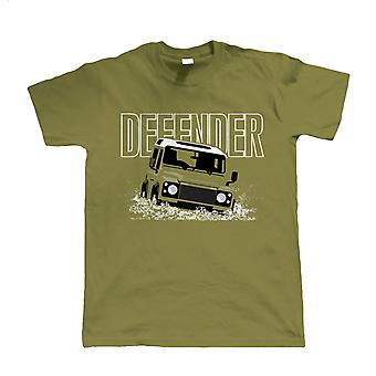 Defender, Herre Off Roading T-Shirt