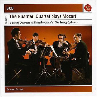 Guarneri kvartetten - den Guarneri Kvartetten spiller Mozart kvartetter & kvintetter [CD] USA importerer