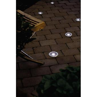 Konstsmide Single LED Solar Ground Spot Light