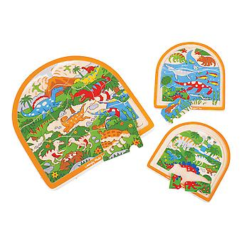 Bigjigs Toys Dinosaur Arched Puzzle
