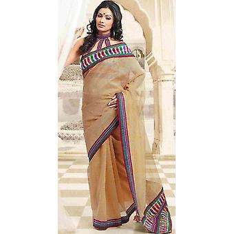 Devi Bollywood Designer partij dragen Indiase Sari saree buikdansen stof