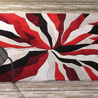 Splinter infinito rettangolo rosso tappeti d' Funky