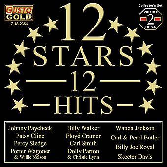 Forskellige kunstner - 12 stjerner - 12 Hits Vol. 2 [CD] USA import