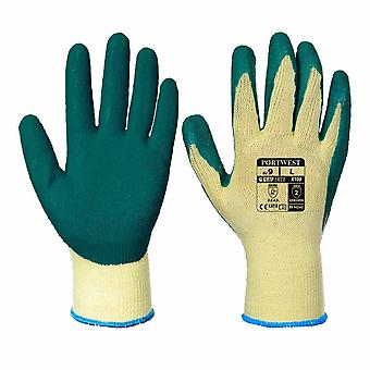 Portwest - Latex Palm Dipped Gripper Gloves (1 Pair Pack)
