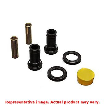 Energy Suspension Control Arm Bushing Set 8.3101G Black Front Fits:TOYOTA 1978