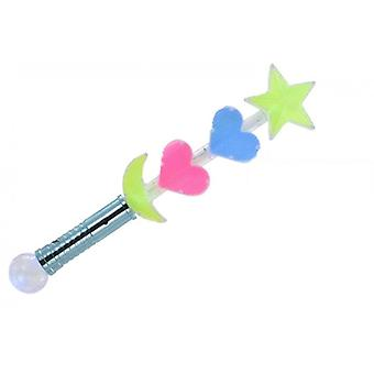 Light Up Wand With Flashing Lights