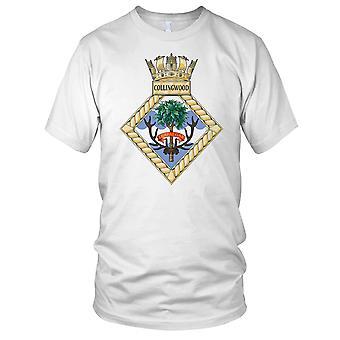 Royal Navy HMS Collingwood dames T Shirt