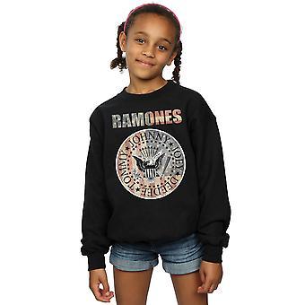 Ramones piger Flag Seal Sweatshirt