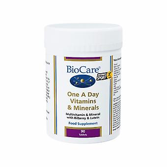 Biocare One-A-Day Multivitamins & Minerals 90 Tablets