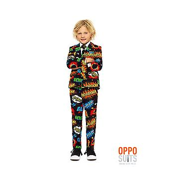 Badaboom comic kids suit suit Opposuit slimline Premium 3-piece set