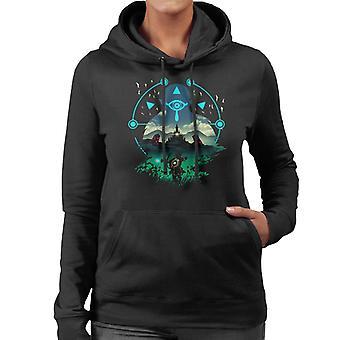 Legend Of Zelda Breath Of The Wild Wild Adventurer Women's Hooded Sweatshirt
