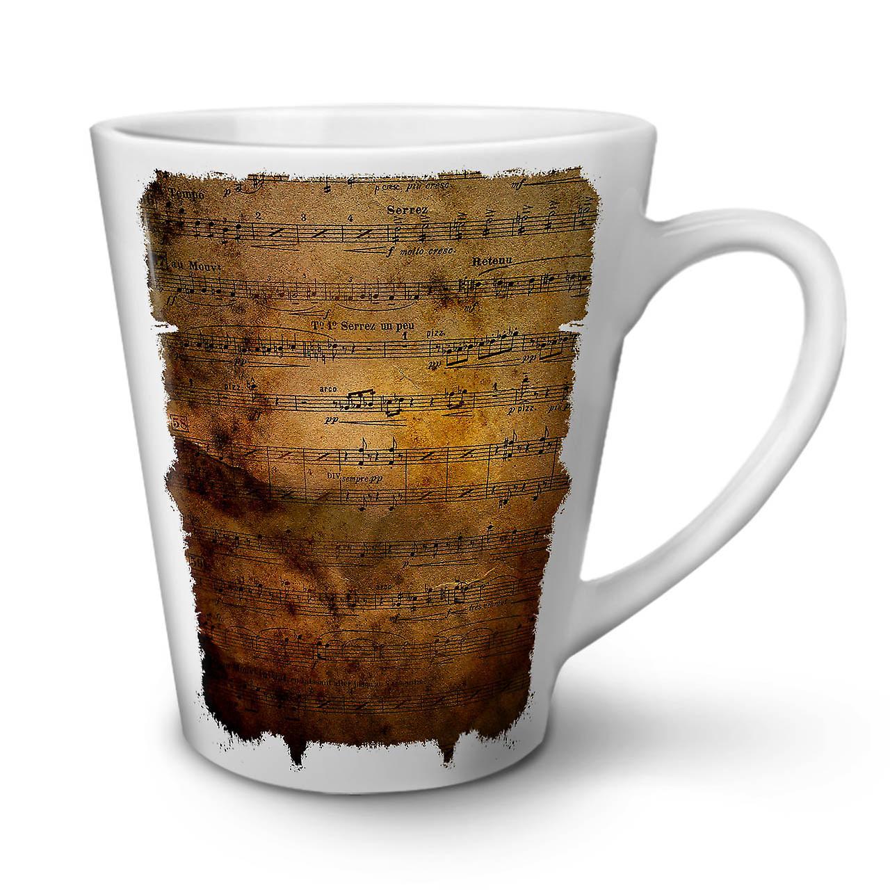 De En OzWellcoda Papier Latte Café 12 Thé Mug Blanc Note Projet Nouveau Céramique f6gyvbIY7m