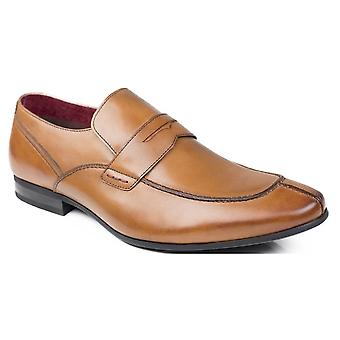 Front Shoes Oban Tan Leather Shoes