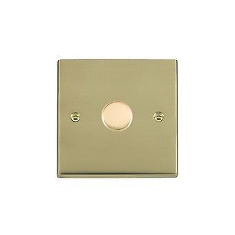 Hamilton Litestat Cheriton Victorian Polished Brass 1g 600W 2 Way Dimmer PB