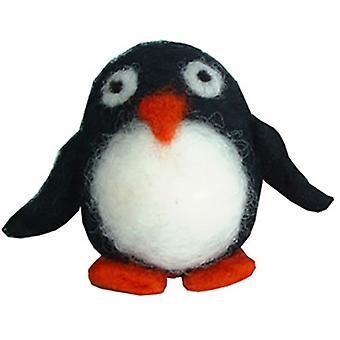 Felta animais Pinguim Felting Kit 8 anos + por Krasnaya
