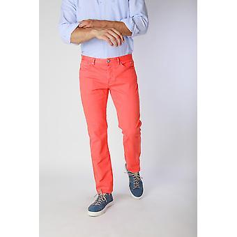 Jaggy Jeans Orange Men