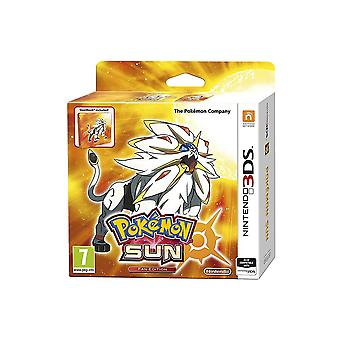 Pokemon Sun Steelbook Fan Edition Nintendo 3DS spil