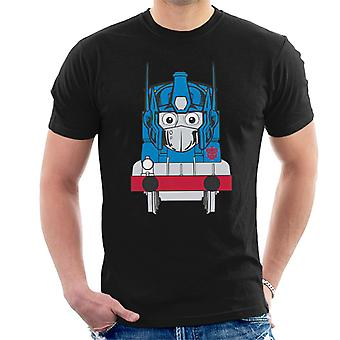 Opthomas Prime Transformers Thomas The Tank Engine Men's T-Shirt