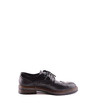 Wexford men's MCBI357008O black leather lace-up shoes