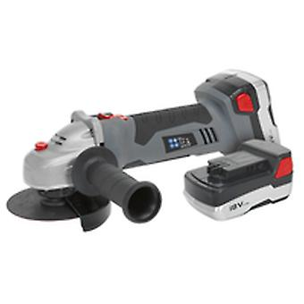 Sealey Cp5418V Cordless Lithium-Ion Angle Grinder