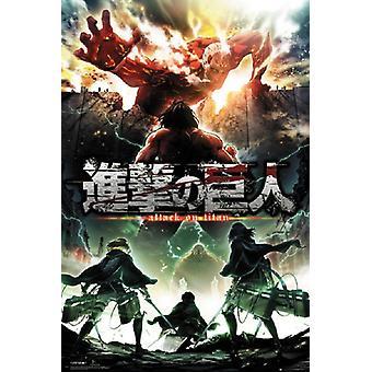 Attack on Titan Season 2 Poster Poster Print