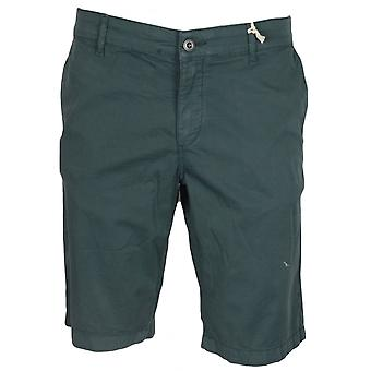 Franklin & Marshall Mf180 Leo Skinny Fit Jungle Green Shorts